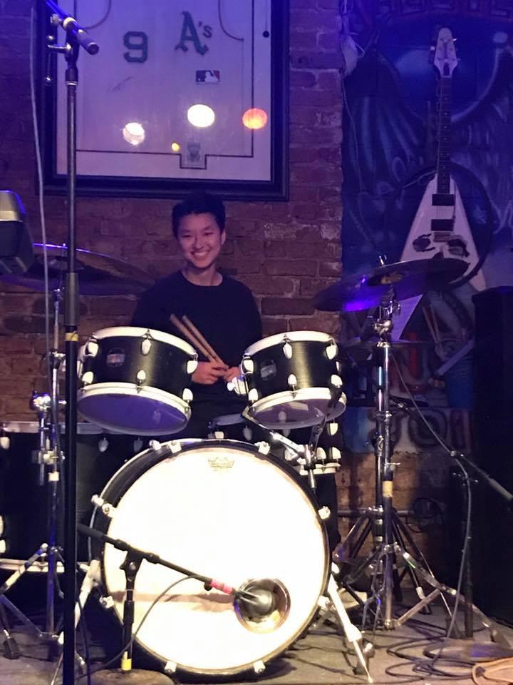 Drummer chick